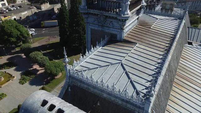 Inspection par drone de l 39 h tel de ville de limoges - Piscine municipale limoges ...