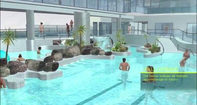 La visite virtuelle du centre aquatique - Piscine limoges beaublanc ...